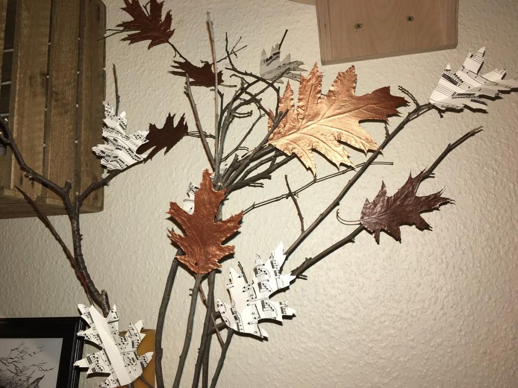 noch etwas Herbstdeko...